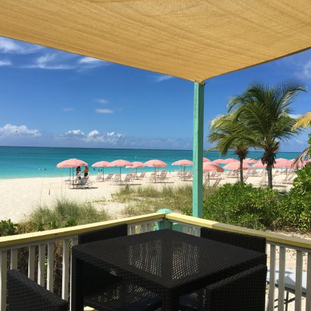 The Flamingo Cafe : Great beach colors
