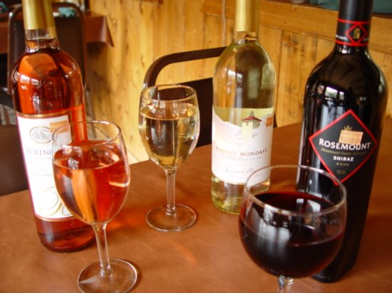 Rusty's Ranch House : Assorted Wines