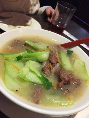 Fuyuan: Beef Ramen.