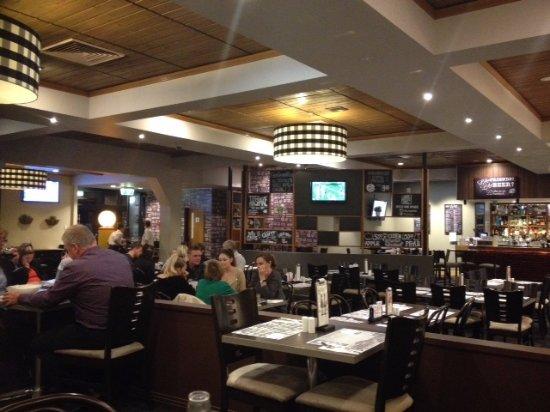 Loganholme, Australien: Interior of dining room
