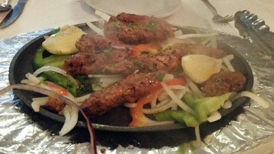 Chutney Indian Restaurant: Lamb sheek kabob appetizer