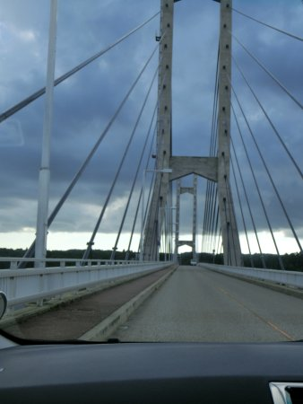 Twin Bridge Noto: 橋の上