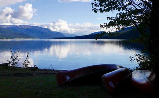 Iskut, Kanada: View on the lake