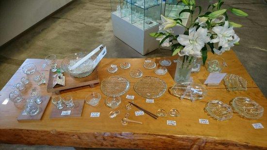 Ryuhyo Glass Museum: 綺麗なガラス製品