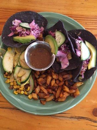 Taos Ski Valley, Nouveau-Mexique : Blue Corn Fish Tacos