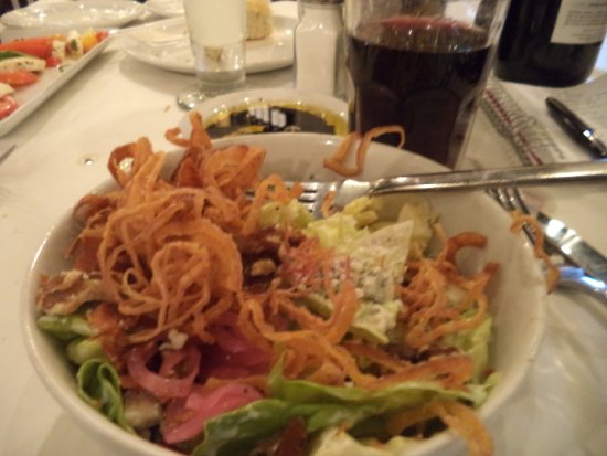 Macaroni Grill: Super salad for only $3 extra with dinner order.