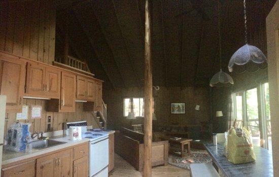 Minerva, NY: Cocina y comedor