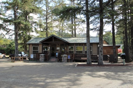 Seaview, WA: Lodge showing accessibility for handicapped persons