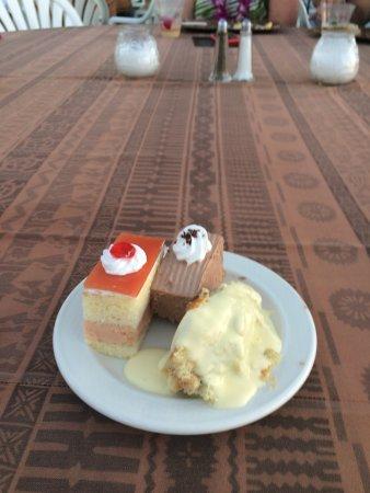 Kaanapali Sunset Luau at Black Rock: Desserts from the luau
