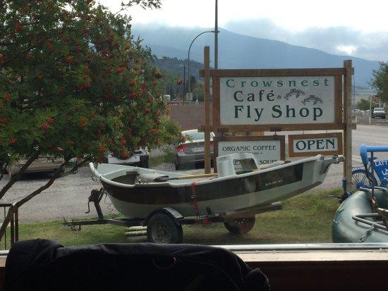 Foto de Crowsnest Cafe and Fly Shop