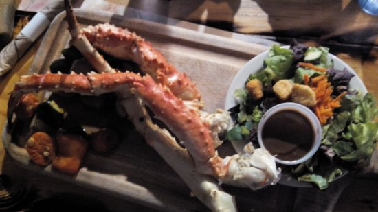 The Alaskan King Crab Legs Are So Very Filling Picture Of Denali