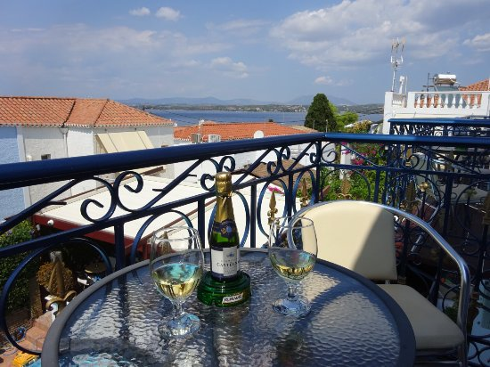 Armata Boutique Hotel: Sea view from our balcony