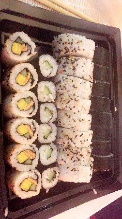 Sushi making workshop at YO Sushi- fab