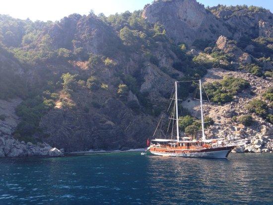 20160921_153533_large.jpg - Billede af Mega Diana Boat Trip-Tours, Marmaris -...