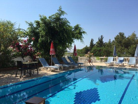 Hotel Koza : Harika bir yer. Kaş'a gelipte Otel Koza'da kalmak bir ayrıcalıktır. Şiddetle tavsiye ediyorum 👍