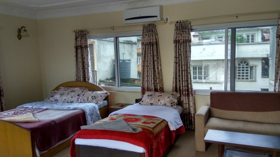 Om Tara Guest House: it has also got a huge kitchen and compared to other it is the best room available at cheapest t