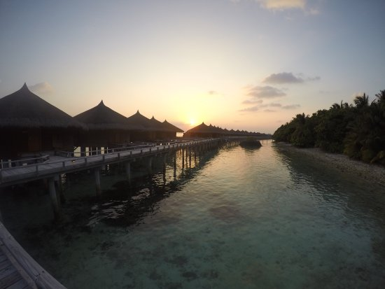 Kuramathi: Water Villas with Jacuzzi from the back side