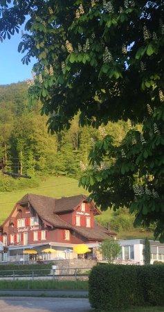 Sachseln, Suiza: الفندق من الجهة المقابله