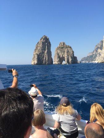 Hotel Bristol: Capri boat trip