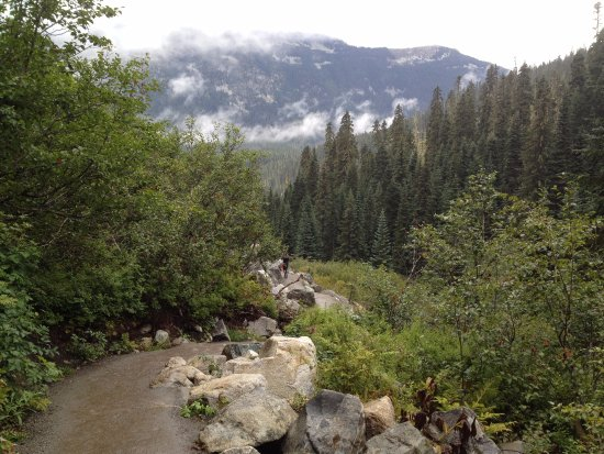 Pemberton, Canada: view from the trail