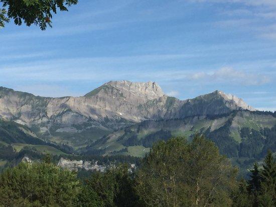 Crest-Voland, Франция: La vue depuis l'hôtel