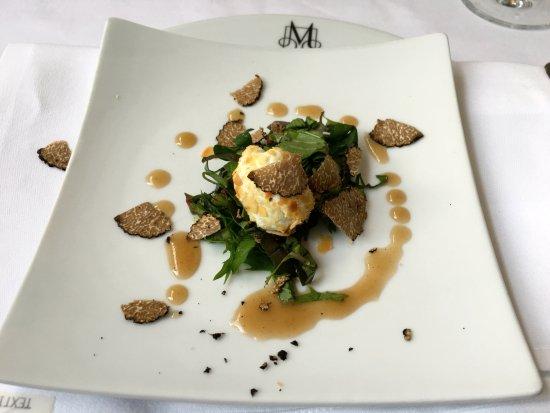 Langen, ألمانيا: Schafskäse Praline / Salat - Chifionade
