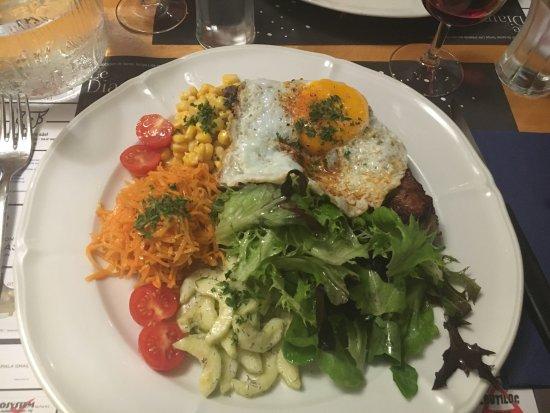 Delémont, İsviçre: Assiette fitness