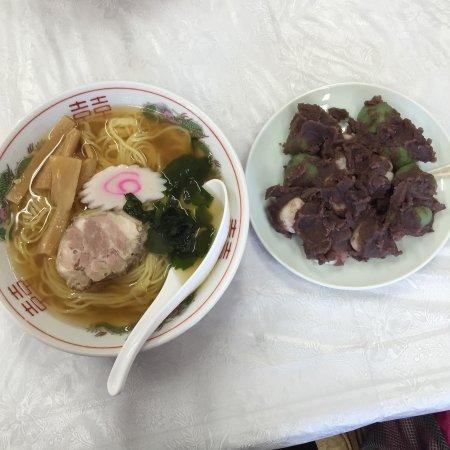 Shimotsuma, Japon : 宝ラーメンとお団子