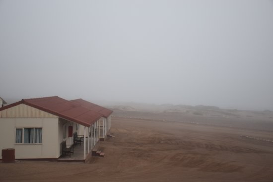 Skeleton Coast Park, Namibya: Bungalows