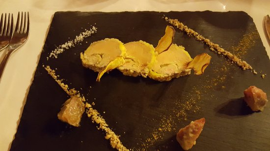 Sourzac, France: Foie gras....superb