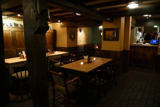 The Star Inn: dining area