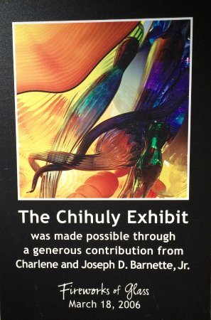 Children's Museum of Indianapolis: Chihuly Glass Exhibit