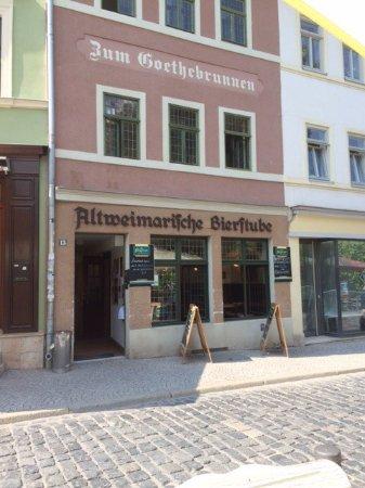Zum Goethebrunnen