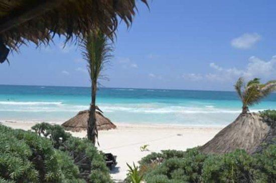 La Vita e Bella: вид с веранды на пляж , bungalow view