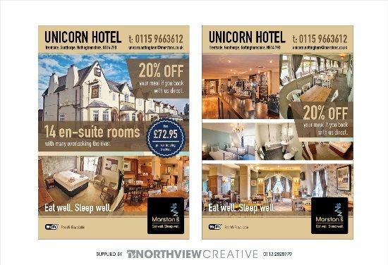 Gunthorpe, UK: Hotel Rooms