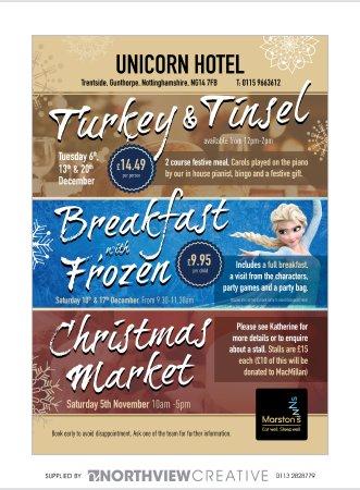 Gunthorpe, UK: Christmas Events 2