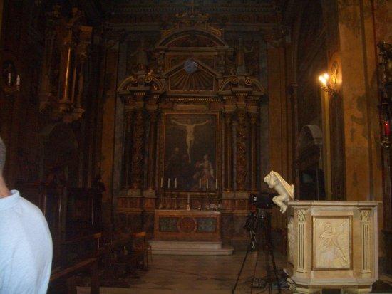 Grotte di Castro, Италия: altare maggiore
