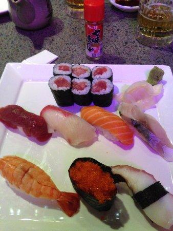 Chiba Ken: Sushi plate