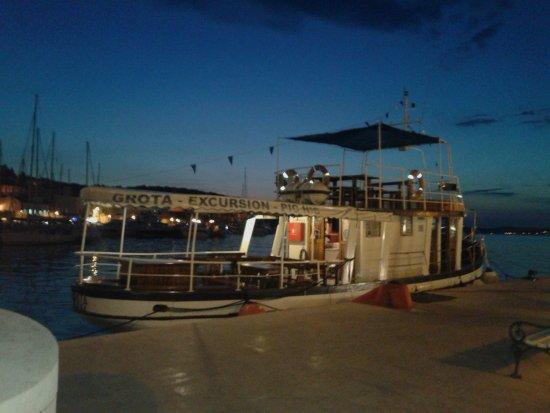 Losinj Island, Croatia: La barca che ci ha ospitato a bordo
