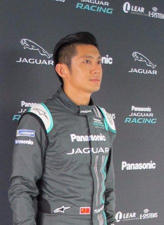 British Motor Museum Jaguar Formula E Car Driver H Tung