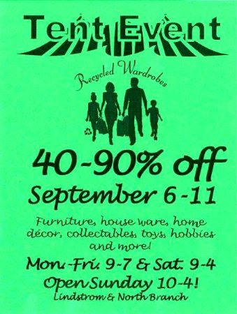 Lindstrom, MN: Fare prices for families PLUS reall FUN sales!