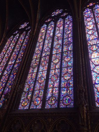 Paris, France: stained glass like you have never experienced!