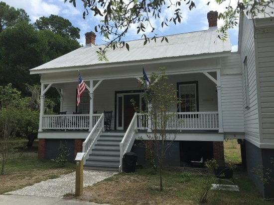 Daufuskie Island, SC: Reaf (Entrance) to Lighthouse