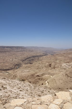 Karak, Jordania: Impressive Canyon.