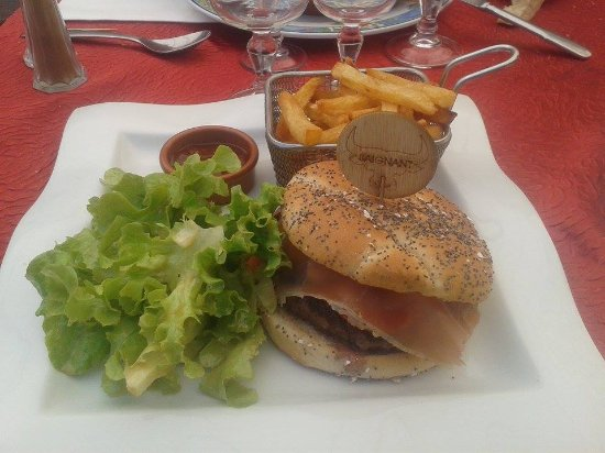 Octon, فرنسا: Excellent burger