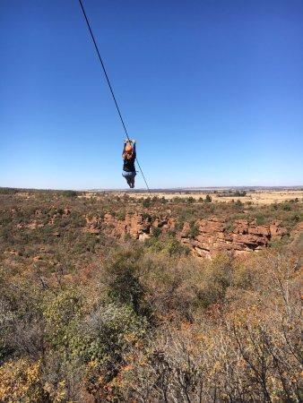 Cullinan, Νότια Αφρική: Down we go...