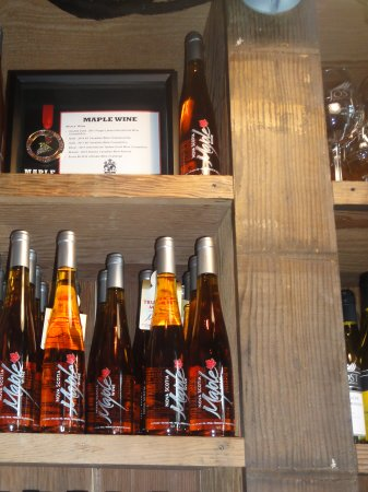 Malagash, Canada: Jost Maple Wine...gotta give this a try!!!