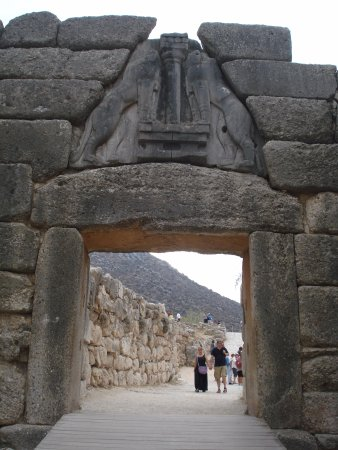 Mycenae, Grecia: The Lion Gate