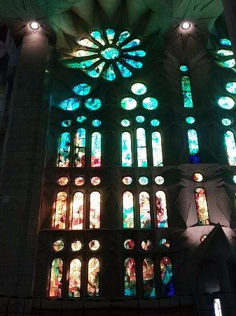 Bilde fra Sagrada Familia