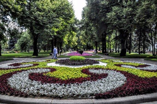 Тайницкий сад Московского Кремля